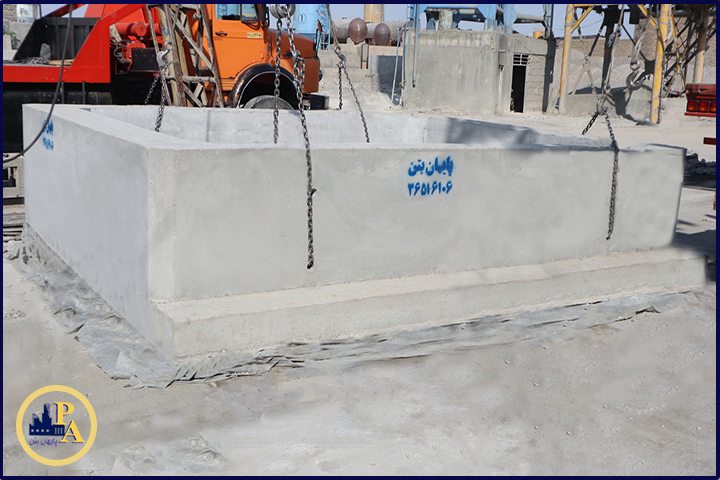 کانال آب و باکس بتنی