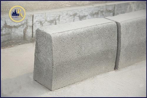 جداول بتنی و بلوکه های ساختمانی