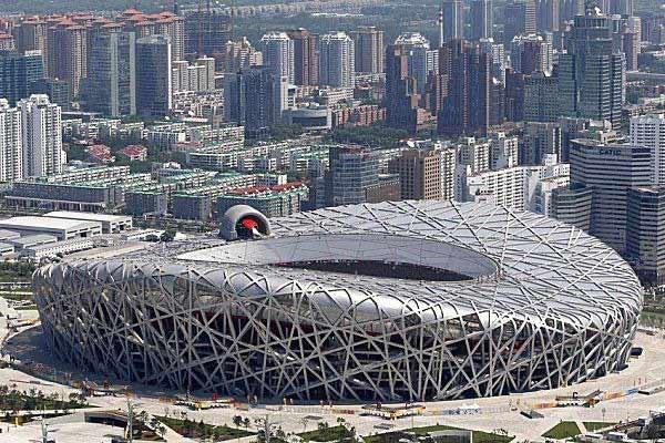 استادیوم ملی پکن با بتن خود متراکم